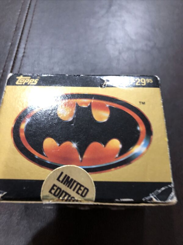 Topps RARE Complete Collectors Edition Batman Movie Cards