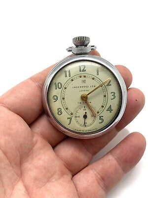 Superb Vintage Manual Wind Ingersoll LTD Triumph Pocket Watch Gents #702