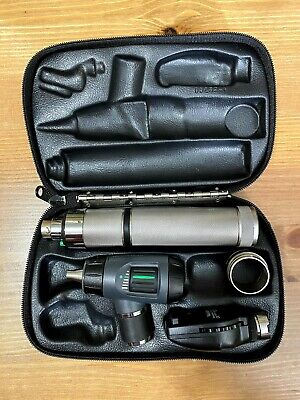 Welch Allyn 3.5v Diagnostic Set Macroview Otoscope Ophthalmoscope Plugin Handle