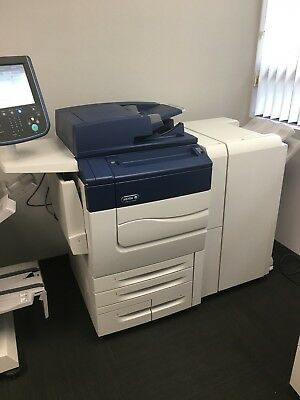 Xerox Color C70 Comes With Advanced Finisher Low Meter Of 89k