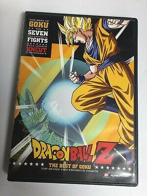 Dragon Ball Z: The Best of Goku (DVD,2016,Widescreen) Fantastic!