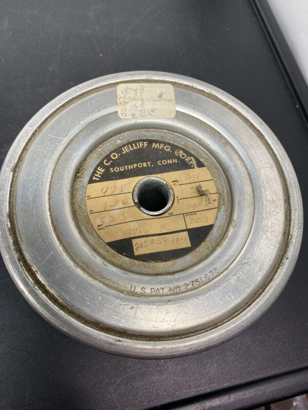 "Vintage C.O. Jelliff Alloy ""K"" Resistance Wire .991 ohms/ft"