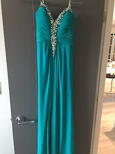 Blue Teal Dress (Perfect for grad)