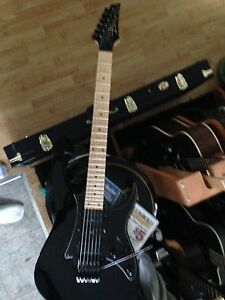 Ibanez RG 350 with Maple neck
