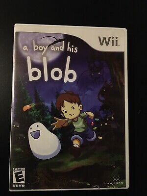 A Boy And His Blob (Wii) With Case And Manual
