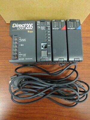 Koyo 205 Direct Logic Dl240 D2-04td1 D2-08nd3
