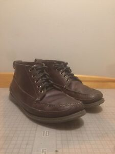 "$20 - Men's Bass ""Russell"" Moccasin-toe boots - sz8.5"