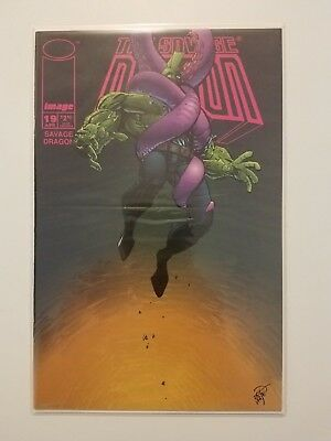 The Savage Dragon #19 NM+ (Image,1995) Phil Dirt, Octopus, Red Giant & Fiend!