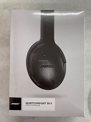 Bose QuietComfort QC 35 II Wireless Noise Cancelling Headphones NEW Ships 6/20