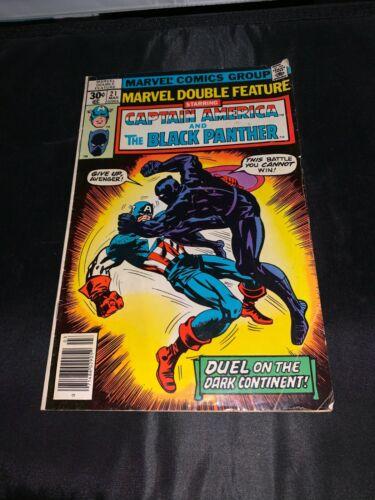 Marvel Comics Group Captain America & Black Panther #21 Mar 1976