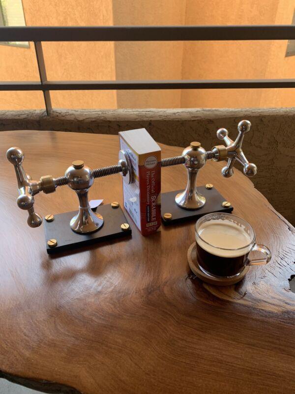 Pendulux Windlass Bookends Aluminum 1 Pair
