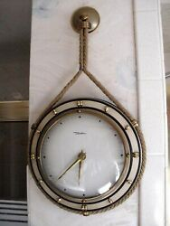 DIEHL wall-mounted Vintage hanging German original Clock