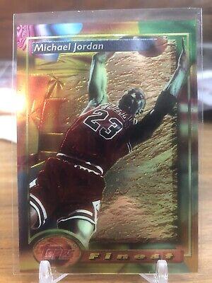 MICHAEL JORDAN 1993 93/94 First TOPPS FINEST #1 Card CHICAGO BULLS HOT