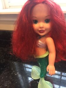 Colors of the sea Ariel doll