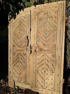 Mittelalter Türen Portal zur Doppeltür Risen beschlagen antik Tür