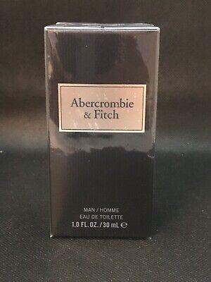 Abercrombie & Fitch First Instinct Blue Mens Fragrance Cologne 1Fl Oz.30ml