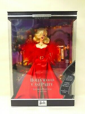 Movie Star Doll (2001 MATTEL BARBIE DOLL HOLLYWOOD CAST PARTY MOVIE STAR COLLECTION NEW IN)