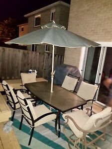 Gone today ! Complete patio set