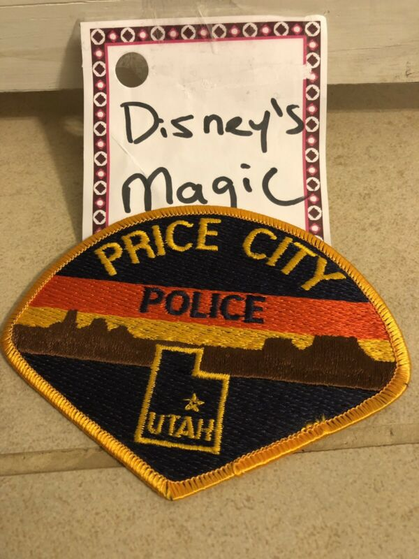 UT Price City Utah Police Patch