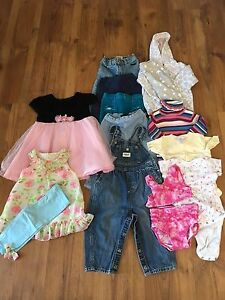 18 month girl lot