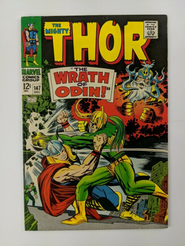 THE  MIGHTY THOR #147 - Circus of Crime Appearance - December 1967
