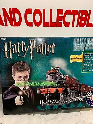 Lionel Harry Potter Hogwarts Express O Gauge Train Set 7-11020 Ready to Run NIB