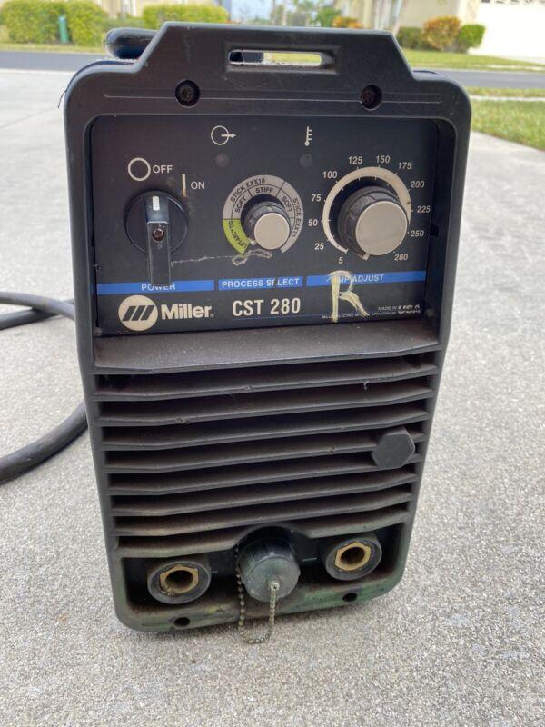 Miller CST 280 CST-280 CST280 Stick / TIG Welder