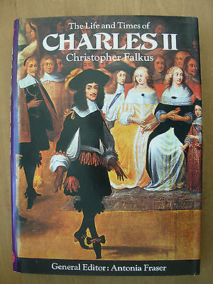 THE LIFE AND TIMES OF CHARLES II - KINGS AND QUEENS OF ENGLAND - HB BOOK