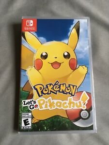 Pokemon Let's Go Pikachu NEW SEALED