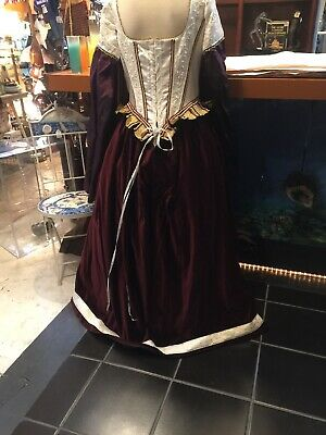 Italian Renaissance Costumes (Medieval Italian Renaissance  Velvet Dress Costume Gown Fairem large)
