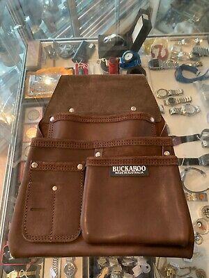 BUCKAROO 3 POCKET LOW DROP BAG - IN BROWN (NBF3) - NEW : NEVER USED !