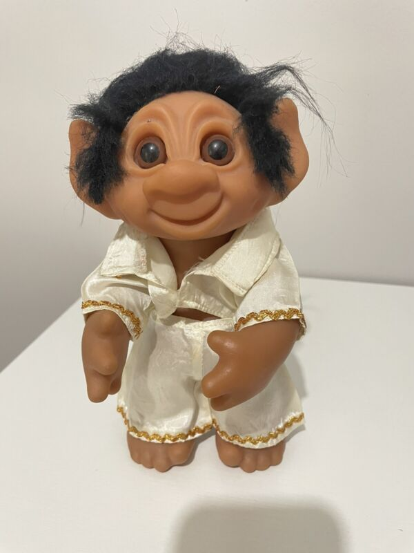 Vintage DAM Troll Elvis Doll. No Guitar.