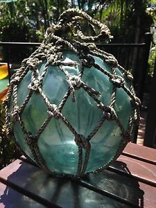 Very old glass fishing float / bouy Whitfield Cairns City Preview
