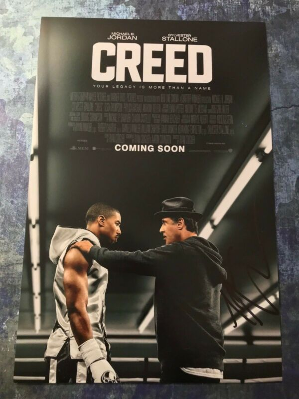 GFA Creed Bianca Movie * TESSA THOMPSON * Signed 12x18 Photo Poster AD1 COA