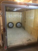 Pace American 5'x10'x6'H closed cargo trailer