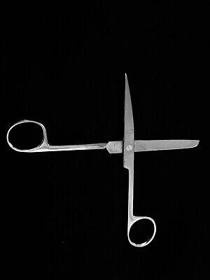 Dressing Scissors Medical 5.5 Straight Sharpblunt Blades Stainless Steel