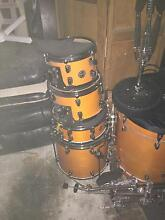 Ddrum drum kit with pearl double kicks Kirrawee Sutherland Area Preview