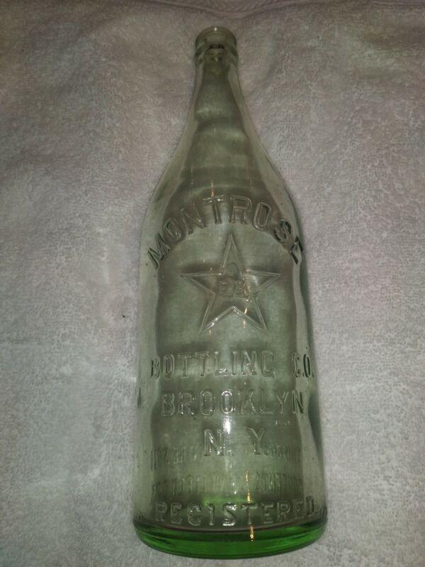Rare Vintage Montrose Bottling Co Brooklyn NY