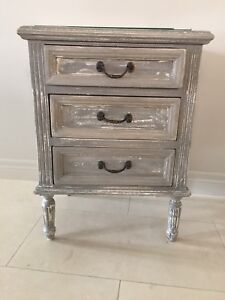 Shabby French Provincial side table