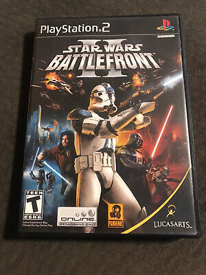 Star Wars Battlefront *Playstation 2* Complete w/ Manual
