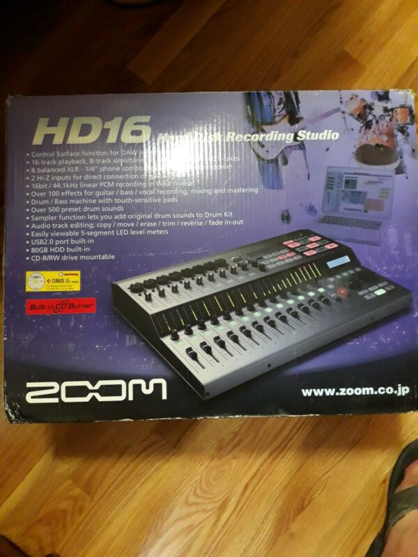 ZOOM HD16 Hard Disk Recording Studio