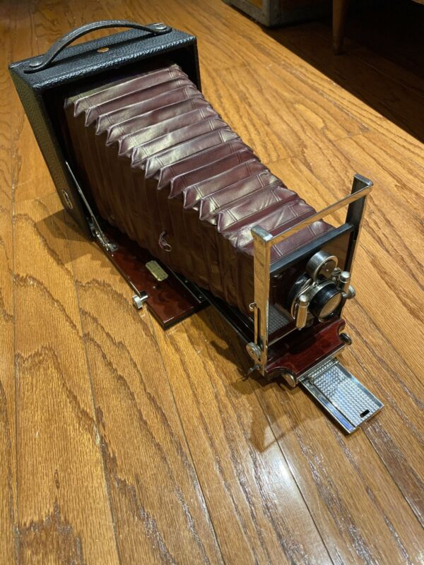 Pony Premo No 6 5x7 Large Format Camera Bausch Lomb F-8 8 1/2 Inch Planatograph