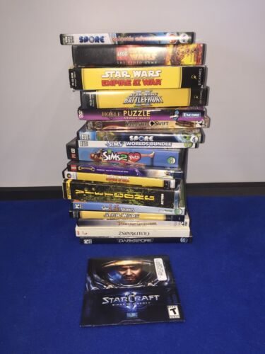 Computer Games - PC computer Games Lot of 18 Games  ++