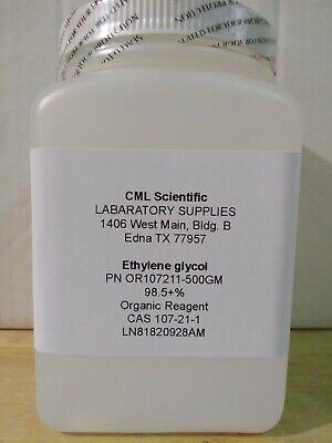 Ethylene Glycol 98.5 Organic Reagent 500g