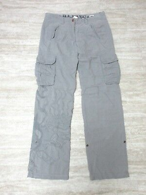 NEW Da-Nang Women's Pants Pockets Embroidered CASTLEROCK RSS52551792 Size SMALL