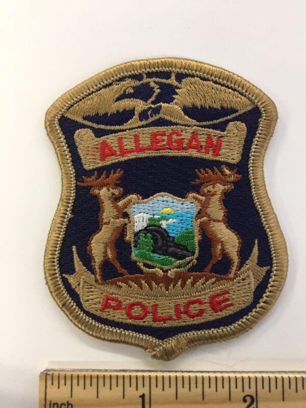 ALLEGAN  MICHIGAN POLICE PATCH