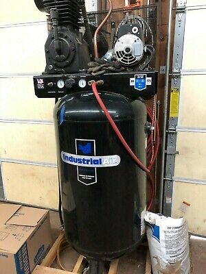 Industrial Air 80 Gallon Compressor