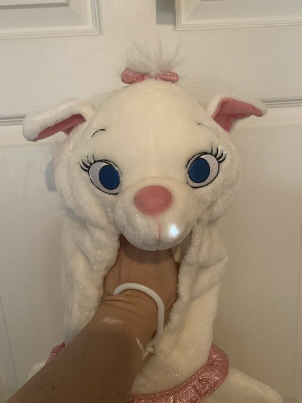 Disney Store Marie Aristocats Plush White Cat Costume Kitty Child Size XS