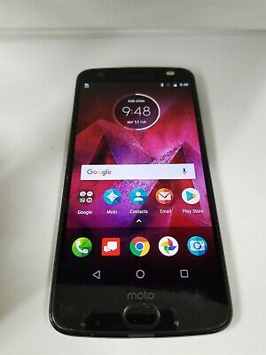 Motorola Moto Z2 Force 64GB Black XT1789-01 Verizon Android Smartphone BW5311