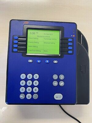 Adp 4500 Bc Employee Time Clock Quick Punch Touch Id 8602800-801 By Kronos